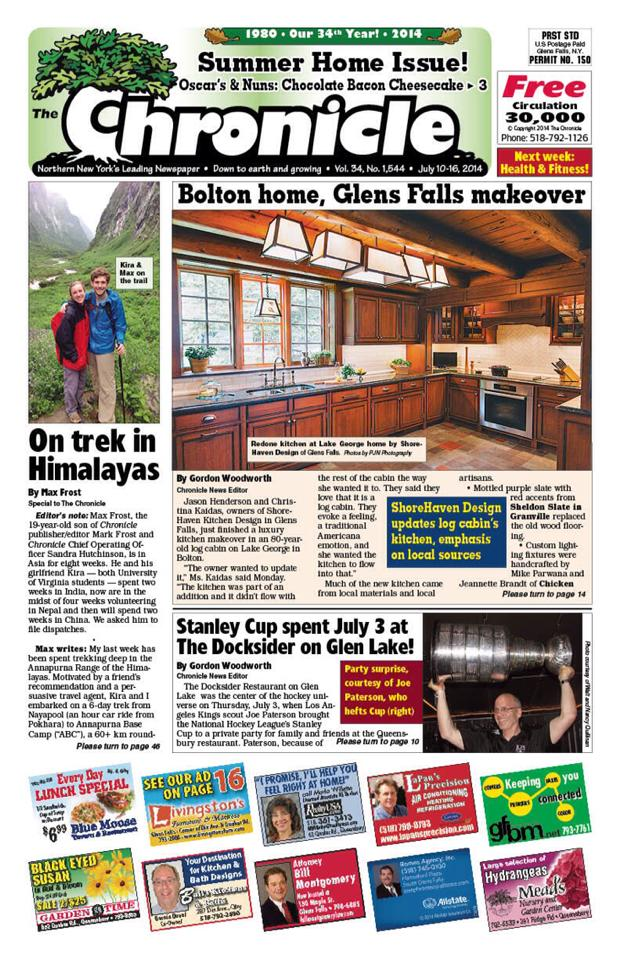 Glens Falls Chronicle Summer Home Issue, July 2014